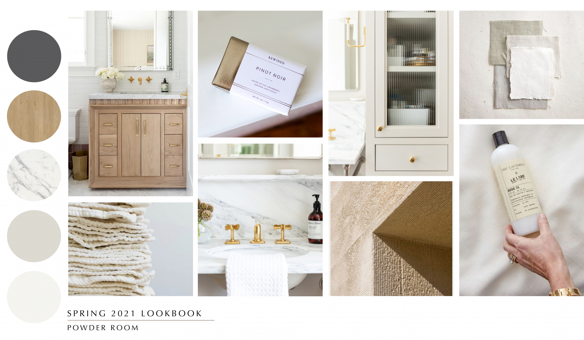 Interior designs with grounding elements such as natural scents and time-worn textures